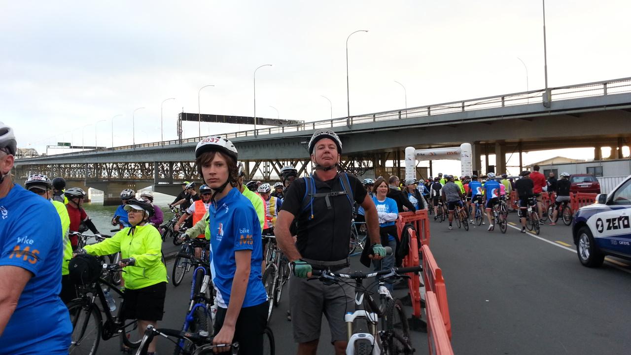 Biked the Bridge