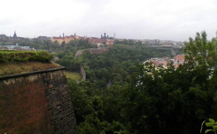 Rainy Day in Prague