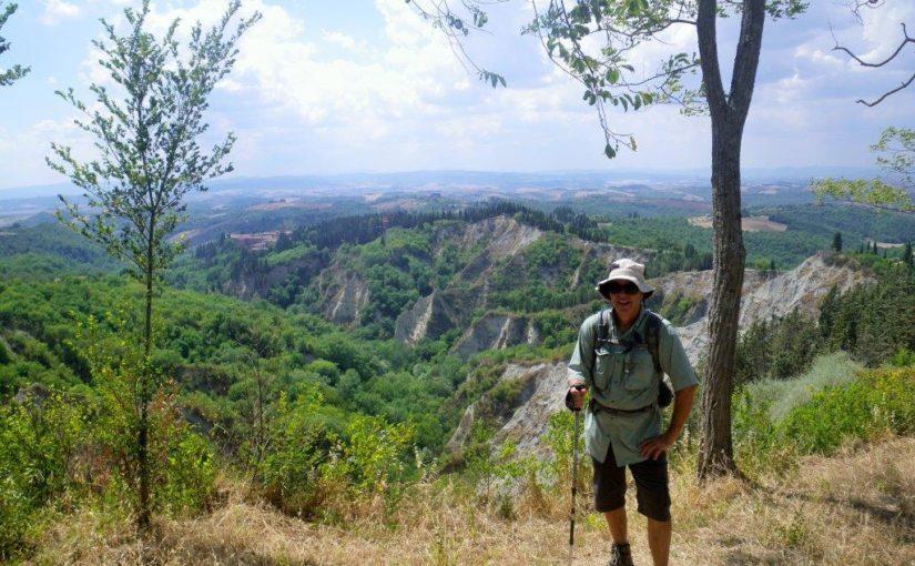 Monte Oliveto to Buonconvento