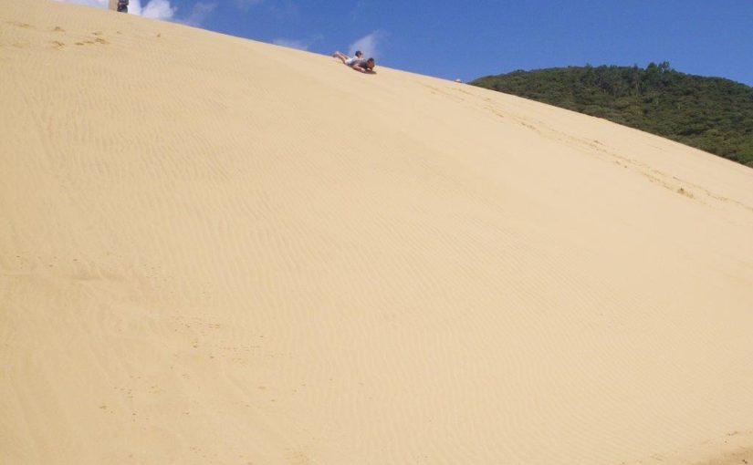 Opononi Sand Dunes